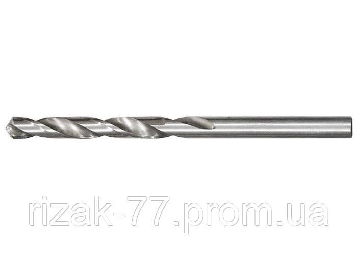 Сверло по металлу, 7, 0 мм, полированное, HSS, 10 шт. цилиндрический хвостовик MTX