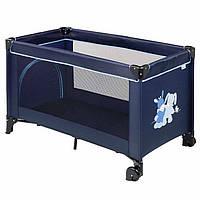 Детский манеж кроватка nattou 10684 с колесами Алекс и Бибу