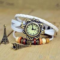 Винтажные женские наручные часы Shambala white (белый)