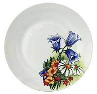 "Набор 6 мелких тарелок ""Колокольчики"" Ø20см"