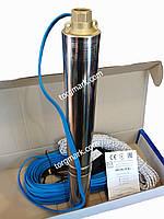 Скважинный насос для воды Водолей БЦПЭ 0,3-63 d=84 мм