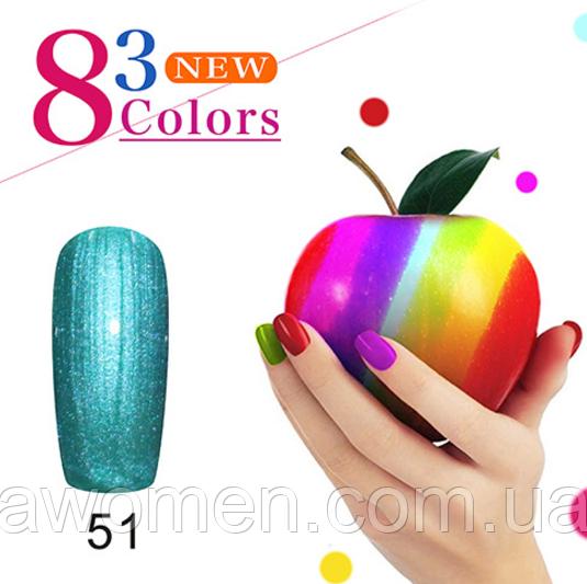 Гель лак KCE Color Natural 10 ml № 51