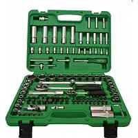 """Универсальный набор инструментов 1/4"""" и 1/2"""" 108 единиц (6-гранные) GCAI108R TOPTUL"""