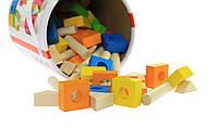 Goki Конструктор деревянный Строительные блоки, арт. 58589