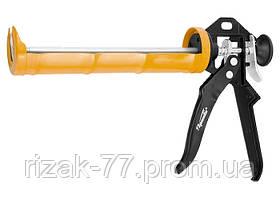 Пистолет для герметика, 310 мл, полуоткрытый, круглый шток 8 мм, Heavy Duty SPARTA