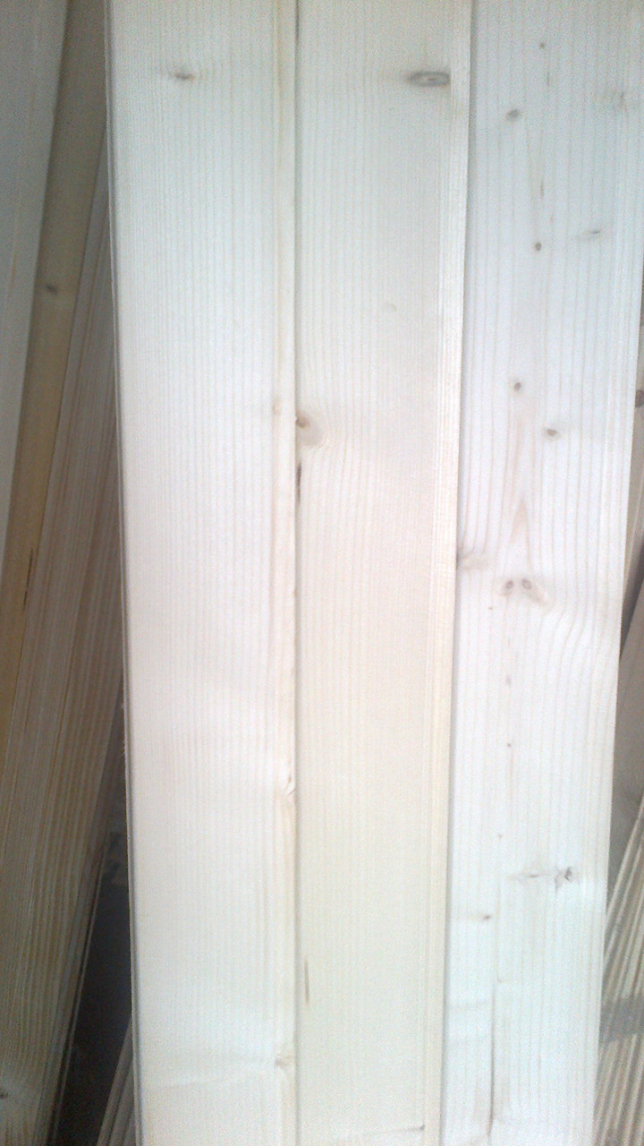 Вагонка из ели природной сушки 90x12x3000 мм - «Смерекова хата» в Львове
