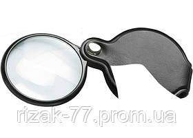 Лупа 2.5-кратна, D 50 мм, складна кишенькова SPARTA