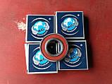 Радиальный однорядный шариковыйподшипник 6205 2RS, KG (Индия), фото 5