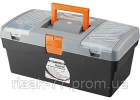 Ящик для инструмента STELS, 420 х 220 х 180 мм (17), пластик STELS