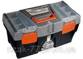 Ящик STELS для инструмента, 590 х 300 х 300 мм (24), пластик STELS