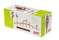 Goki Конструктор деревянный Строительные блоки II, арт. 58532