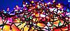 Вулична Світлодіодна Гірлянда Нитка Дрібні Діоди Багатобарвна 100 LED Мульти