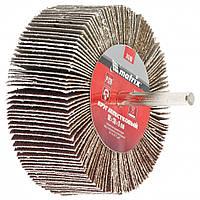 Круг лепестковый для дрели, 80 х 40 х 6 мм, P 60 MTX