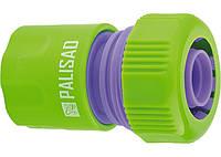 Зєднувач пластмасовий швидко знімний для шланга 3 / 4  PALISAD