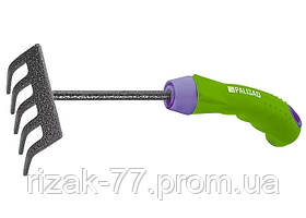 Граблі 5-зубі, 90 мм, захисне покриття, прогумована ергономічна ручка PALISAD