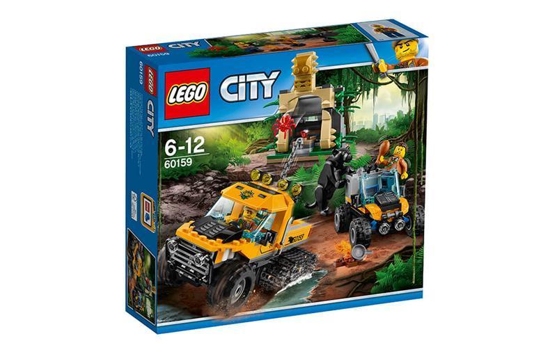 """Конструктор LEGO City Миссия """"Исследование джунглей"""" (60159) - Интернет-магазин Kobra в Харькове"""