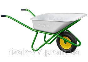 Тачка садово-будівельна, посилена, вантажопідйомність 200 кг, обем 90 л PALISAD