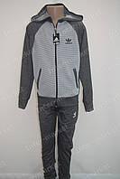 """Красивый детский трикотажный спортивный костюм в стиле """"Adidas"""" для мальчика"""