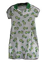 Платье женское (коттон,стрейч) лайм Турция оптом 7 км Одесса