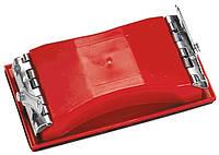 Брусок для шліфування, 160 х 85 мм, пластиковий із затискачами MTX