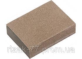 Губка для шлифования, 100 х 70 х 25 мм, середня жорсткість, 3 шт., P 60/80, P 60/100, P 80/120 MTX