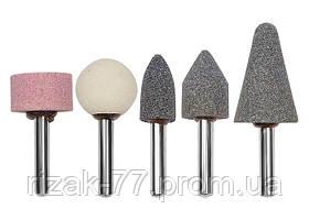 Точильні камені MATRIX для дрилі, 5 шт. / / MTX