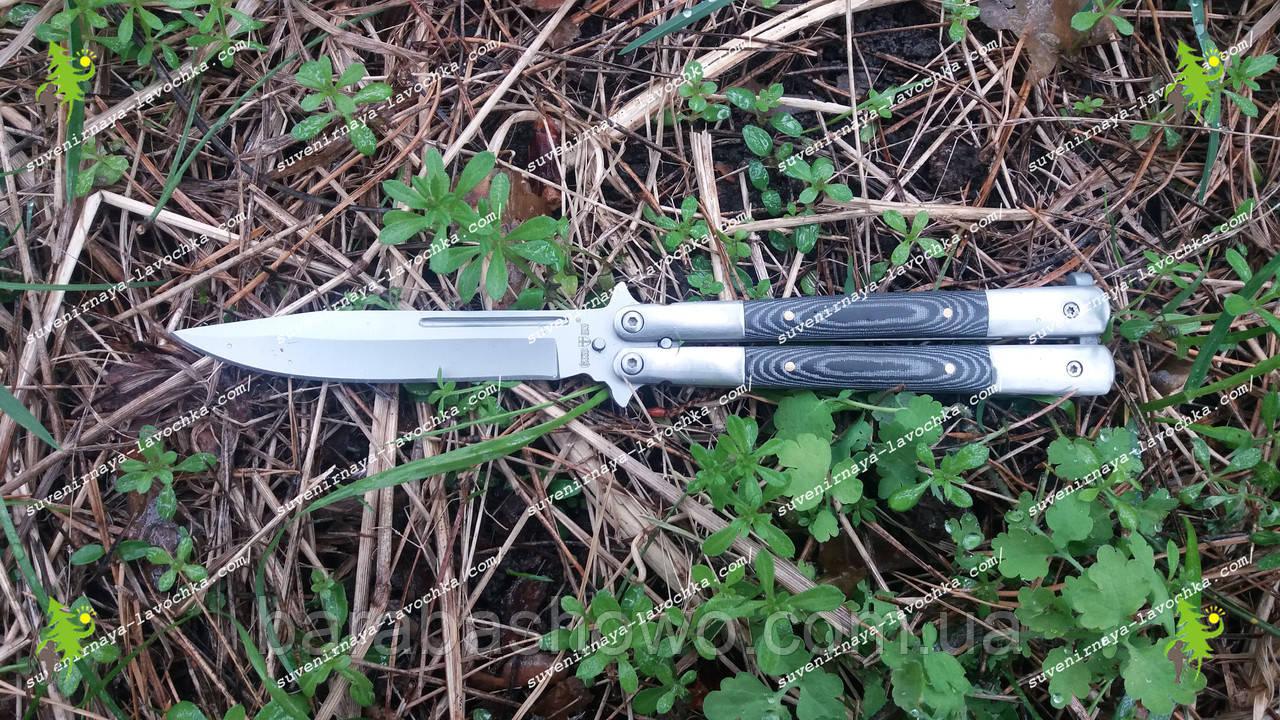 """Нож балисонг """"Falcon tail"""". Grand Way 1008 M"""