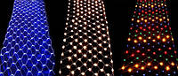 Гирлянда Сетка Новогодняя 240 Диодов 2 х 2 м Цвета в Ассортименте