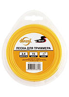 Леска для тримера трикутна, 1,3 мм х 15м,  Denzel