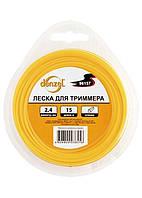 Леска для тримера  трикутна, 2.0 мм х 15м,  Denzel ,