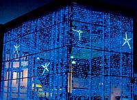 Уличная Светодиодная Гирлянда Водопад Новогодняя 480 LED Синий Белый am