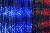Гирлянда Водопад 360 LED Цвета в Ассортименте