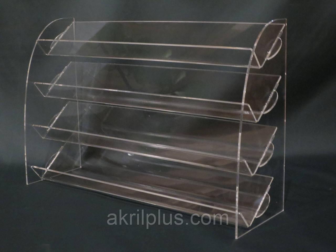 Подставка под лак для ногтей 4 яруса, фото 1