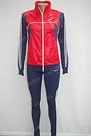 Спортивный костюм в стиле ADIDAS красный, фото 1
