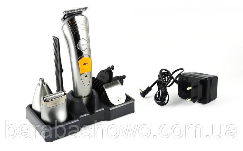 Стайлер KM 580-a Kemei 4в1(набор для стрижки волос и бороды)