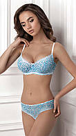 Мягкий бюстгальтер 1401/37 SHAY  blue/white Jasmine Lingerie