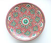 Тарелка для плова d 33 см. Авторская работа. Узбекистан