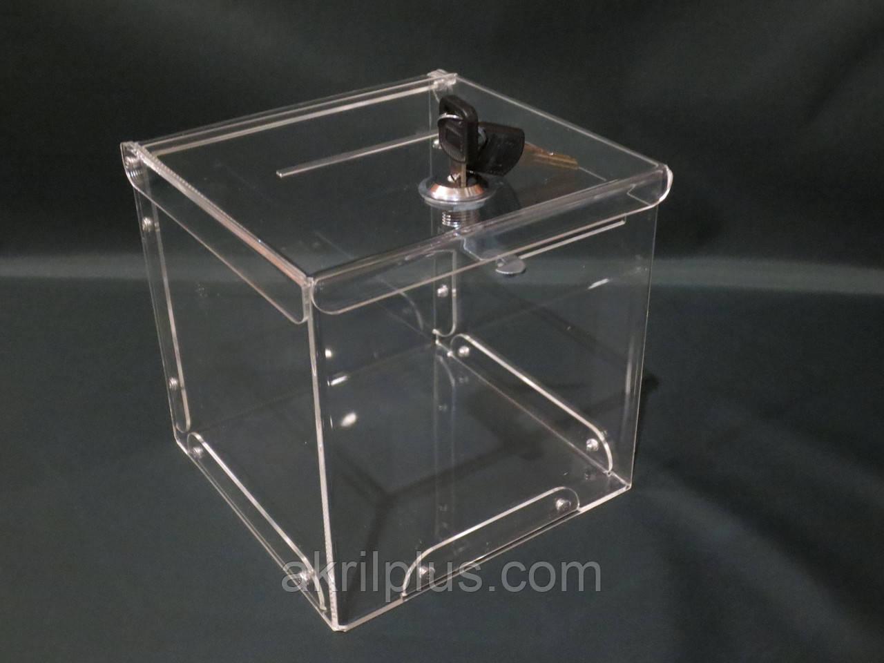Ящик для пожертвований 200*200*200