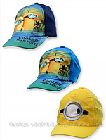 Детская стильная бейсболка кепка для мальчиков Minions