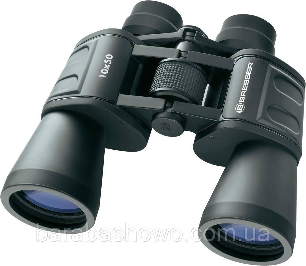 Бинокль 10x50 Bresser Качественная охотничья оптика