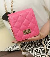 Сумка-клатч женская Dior pink (розовый)