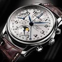 Мужские наручные часы LONGINES MASTER COLLECTION BROWN (реплика)