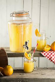 Лимонадница в аренду на 5л. Диспенсер для напитков 5л Kilner Vintage Drinking