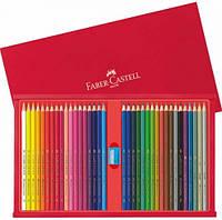Цветные карандаши Faber-Castell 36 цветов в деревянной коробке 115837