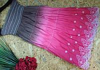 Юбка из кружева MEGGI 606 розовый  42-46р