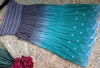 Юбка из кружева MEGGI 606 зеленый  42-46р