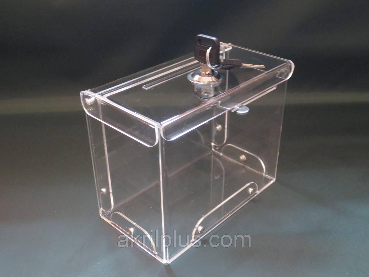 Ящик для пожертвований 150*120*80 горизонтальный