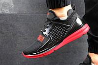 Мужские кроссовки puma ignite Limitless черно красные