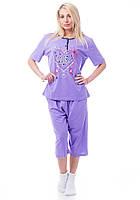 Женская пижама со свободными бриджами Турция