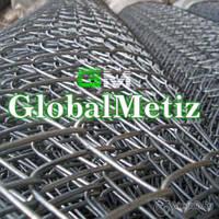 Сетка рабица д 3 мм 65х65 1,8 м от производителя, оцинкованная (горячего оцинкования)